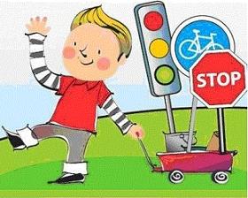 """"""" Bezpieczna droga do przedszkola """" – zajęcie edukacyjne dla wszystkich przedszkolaków"""