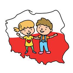 """"""" Szkoła do hymnu """" - udział przedszkolaków w akcji pod patronatem MEN"""